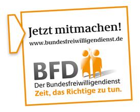 Externer Link: Logo Bundesfreiwilligendienst