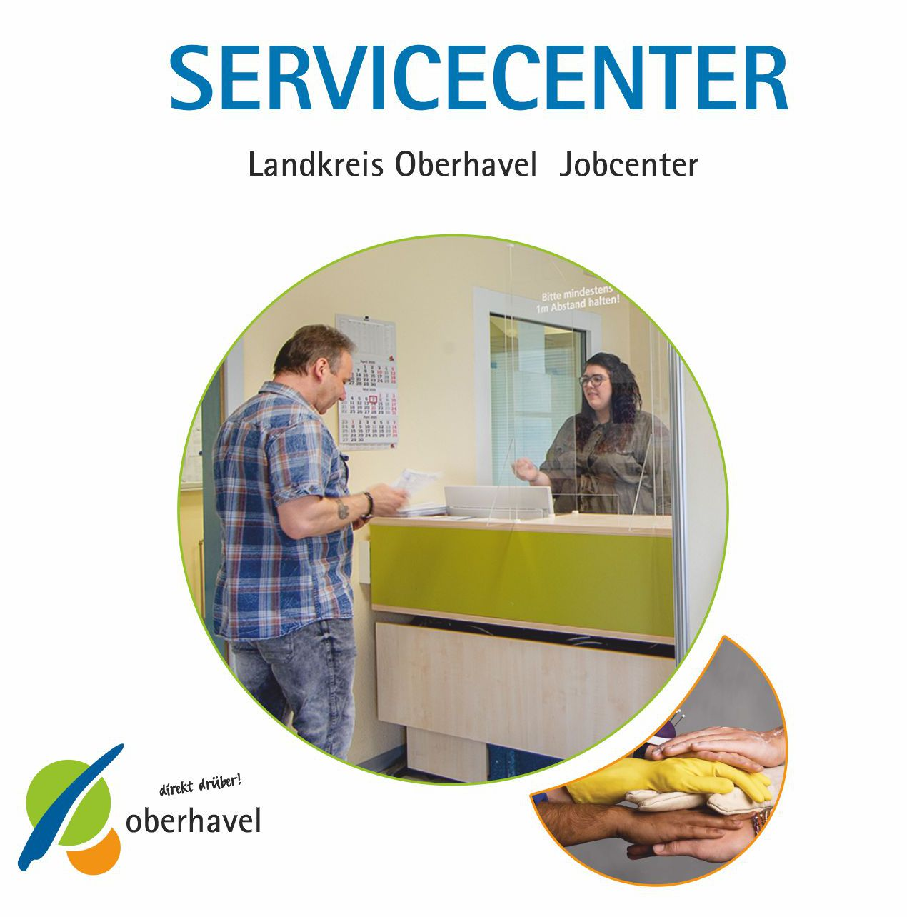 Informationsflyer Servicecenter