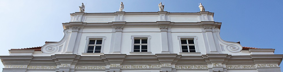Das Schloss Oranienburg beherbergt auch das Kreismuseum.