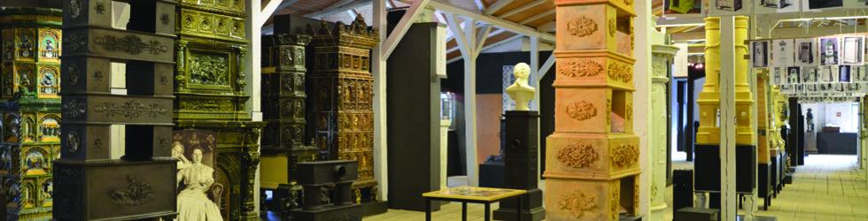 Blick ins Ofen- und Keramikmuseum Velten
