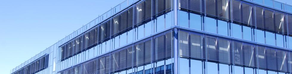 Blaues Wunder - Technologiezentrum in Hennigsdorf
