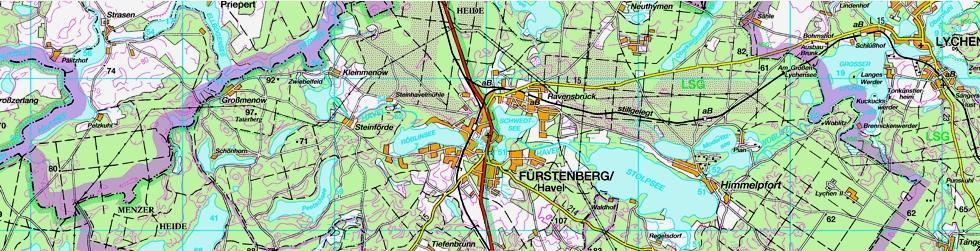 Der Landkreis stellt verschiedenste Geoinformationen zur Verfügung.