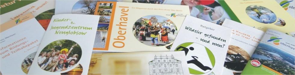 Ein Überblick über die Publikationen des Landkreises
