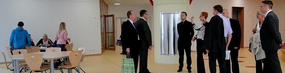 Einen regen Austausch in Bildungsangelegenheiten führt der Landkreis Oberhavel mit der finnischen Stadt Tampere.